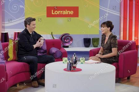Editorial photo of 'Lorraine Live' TV Programme, London, Britain. - 12 Jan 2012