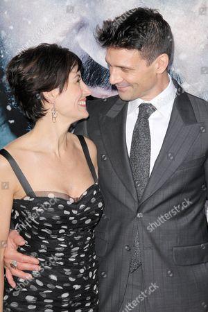 Wendy Moniz and Frank Grillo