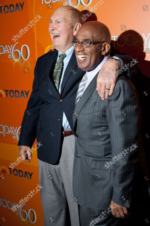 Willard Scott and Al Roker