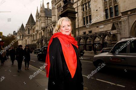 Editorial photo of Mary Ellen Field, London, Britain - 23 Nov 2011