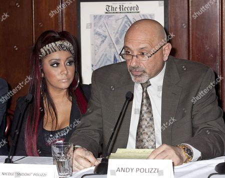 Nicole Snooki Polizzi and Andy Polizzi
