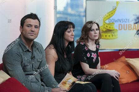 Mark Wright, Elise Lindsay and Emma Kenny