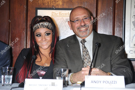 Stock Picture of Nicole Snooki Polizzi and Andy Polizzi