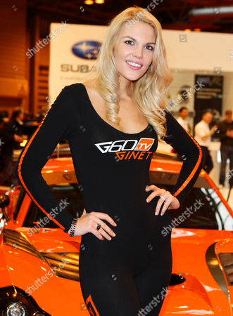 Editorial photo of Autosport International Show, Birmingham NEC, Birmingham, Britain - 12 Jan 2012