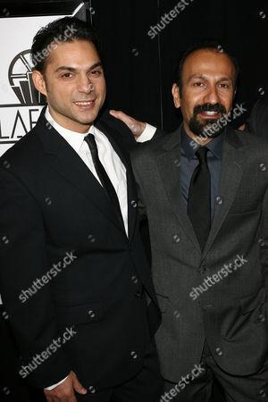 Peyman Moadi and Asghar Farhadi