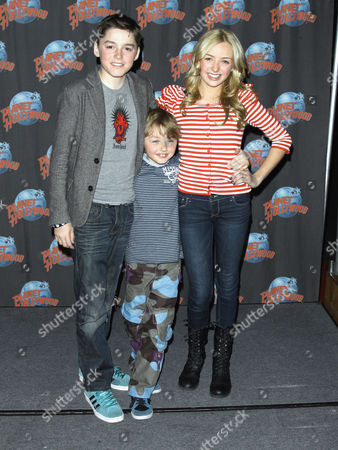 Editorial picture of Peyton Roi List at Planet Hollywood, New York, America - 13 Jan 2012
