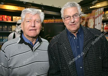 David Prowse with his his brother Bob Prowse