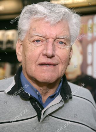 Editorial picture of Dave Prowse promoting his book 'Straight From The Force's Mouth', Waterstones, Winchester, Britain - 14 Jan 2012
