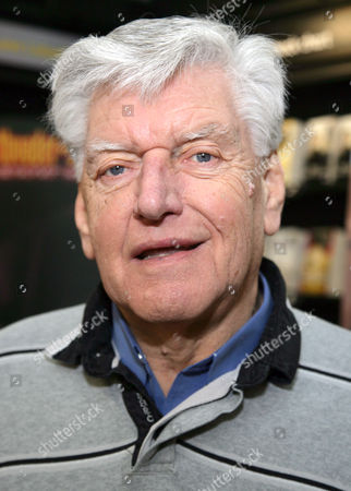 Editorial image of Dave Prowse promoting his book 'Straight From The Force's Mouth', Waterstones, Winchester, Britain - 14 Jan 2012