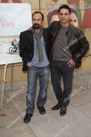 Asghar Farhadi and Peyman Moadi
