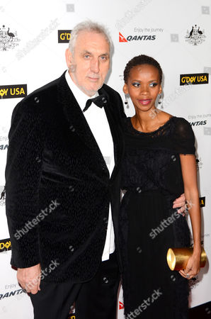 Stock Image of Phillip Noyce and Vuyo Dyasi