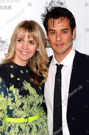 Stock Photo of Sophia Banks-Coloma and Marcus Coloma