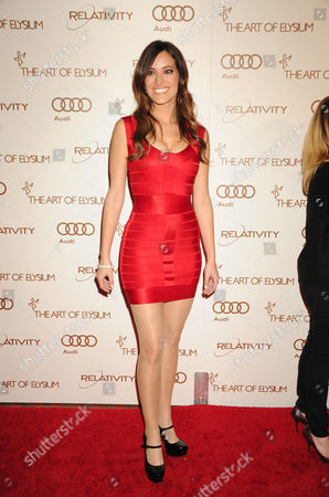 Editorial picture of Art Of Elysium 5th Annual Heaven Gala, Los Angeles, America - 14 Jan 2012
