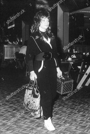 RENATE BLAUEL, EX-WIFE OF ELTON JOHN.