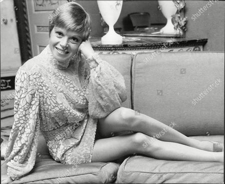 Stock Photo of Shani Wallis Actress At Dorchester Hotel 1968.