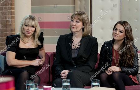 Stock Image of Kate Thornton, Dr Adrienne Key and Megan Rafferty