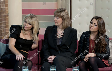 Stock Picture of Kate Thornton, Dr Adrienne Key and Megan Rafferty