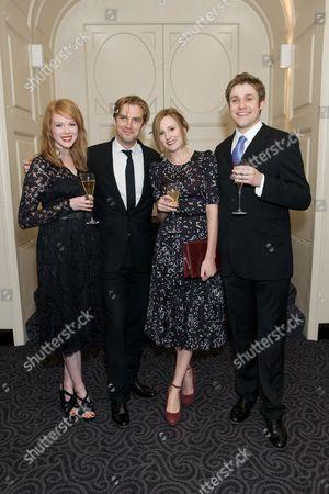 'Downton Abbey' cast - Zoe Boyle, Dan Stevens, Laura Carmichael and Thomas Howes