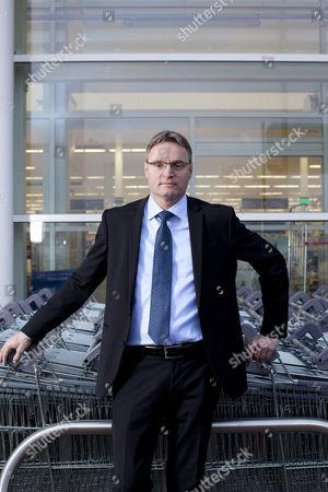 Editorial image of Per Bank, Tesco UK commercial director, Cheshunt, Hertfordshire, Britain - 09 Jan 2012