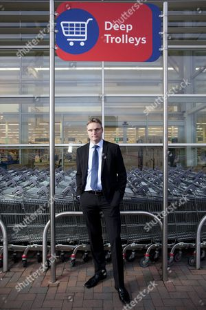 Stock Image of Per Bank, Tesco UK commercial director for non-food, telecoms and online, who is to join Danish food retailer Dansk Supermarked.