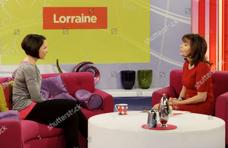 Margot Campbell and Lorraine Kelly