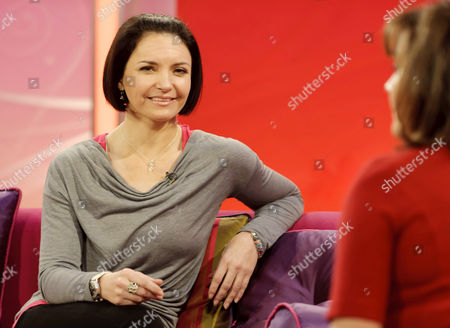 Editorial image of 'Lorraine Live' TV Programme, London, Britain - 17 Jan 2012