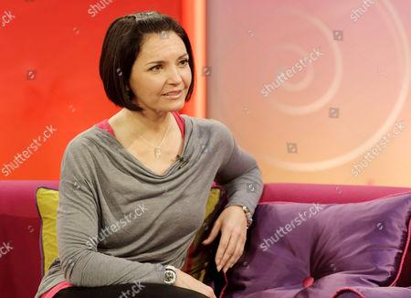 Editorial photo of 'Lorraine Live' TV Programme, London, Britain - 17 Jan 2012