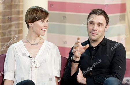 Sarah Jane Potts and Joseph Millson