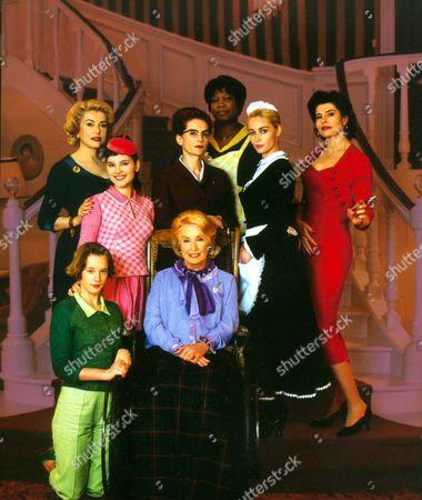 8 Women (8 Femmes),  Firmine Richard,  Catherine Deneuve,  Isabelle Huppert,  Emmanuelle Beart,  Fanny Ardant,  Virginie Ledoyen,  Ludivine Sagnier,  Danielle Darrieux