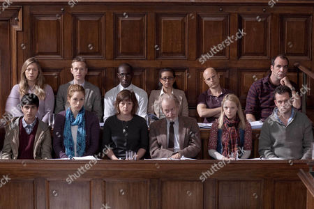 Editorial picture of 'The Jury' TV Programme - Nov 2011