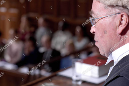 Iain Mitchell as High Court Judge.