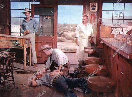 Bad Day At Black Rock,  Robert Ryan,  Ernest Borgnine,  Walter Brennan,  Walter Sande