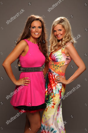 Stock Picture of Charlotte Heaven and Debbie King