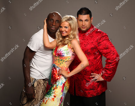 Stock Picture of Frank Akinsete, Debbie King and Demitri Jones