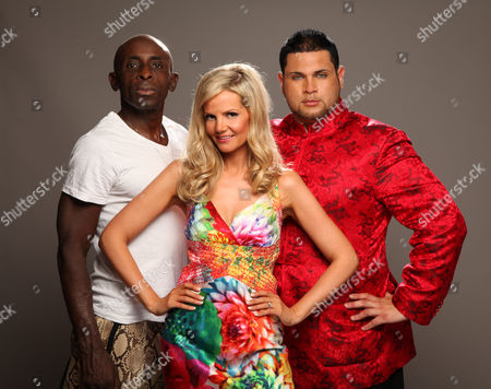Stock Photo of Frank Akinsete, Debbie King and Demitri Jones