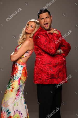 Stock Picture of Debbie King and Demitri Jones