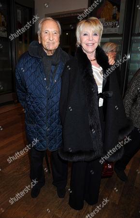 Editorial photo of 'David Hockney RA: A Bigger Picture' exhibition, Royal Academy of Arts, London, Britain - 17 Jan 2012