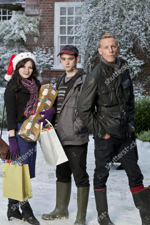 Laurence Fox as Jonathan Donald, Jack McMullen as Freddie and Sarah Smart as Laura Cooper.