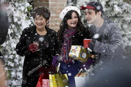 Stock Photo of Marian McLoughlin as Julia, Sarah Smart as Laura Cooper and Jack McMullen as Freddie.