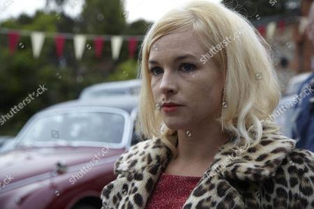 Stock Image of Emma Stansfield as Sharon Veelie