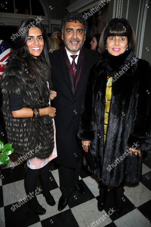 Editorial photo of The Faberge Egg Hunt Champagne Countdown Party, London, Britain - 18 Jan 2012