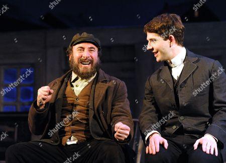 Antony Sher as Jacob and Damien Molony as Matt