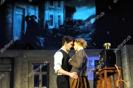 Damien Molony as Matt and Lauren O'Neil as Anna