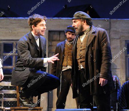 Damien Molony as Matt and Antony Sher as Jacob