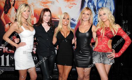 Bibi Jones, Stoya, Jesse Jane, Riley Steele and Kayden Kross