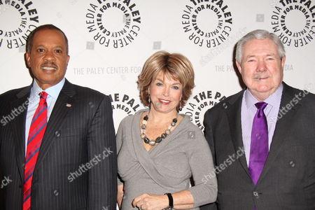 Juan Williams, Pat Mitchell, Frank Bennack