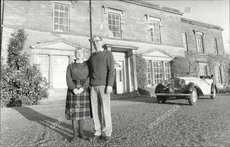 Lord And Lady Of The Manor For The Day Mail Reporter Diana Hutchinson And Her Husband Peter Parry. They Spent The Day At Camphill House Near Rippon