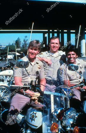Chips 1977-1983,  Larry Wilcox, robert Pine, erik Estrada