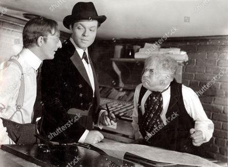 Citizen Kane,  Everett Sloane,  Orson Welles,  Ray Collins