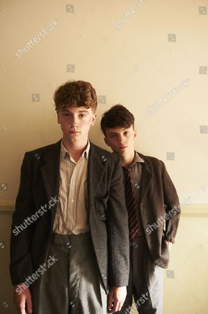 Josh Bolt as Henry and Perry Millward as Paul Jeffries.